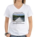 Rockbottom Dam Women's V-Neck T-Shirt