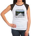 Rockbottom Dam Women's Cap Sleeve T-Shirt
