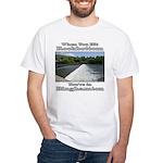 Rockbottom Dam White T-Shirt