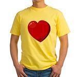 Heart Yellow T-Shirt