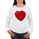 Heart Women's Long Sleeve T-Shirt