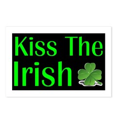 Kiss the Irish Postcards (Package of 8)