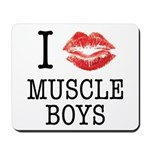 I X Muscle boys Mousepad