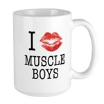 I X Muscle boys Large Mug
