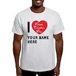 Personal Name : Valentine Light T-Shirt