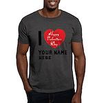 Personal Name : Valentine Dark T-Shirt