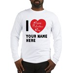 Personal Name : Valentine Long Sleeve T-Shirt
