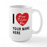 Personal Name : Valentine Large Mug
