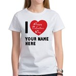 Personal Name : Valentine Women's T-Shirt