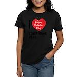 Personal Name : Valentine Women's Dark T-Shirt
