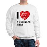 Personal Name : Valentine Sweatshirt