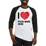 Personal Name : Valentine Baseball Jersey