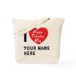 Personal Name : Valentine Tote Bag