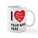 Personal Name : Valentine Mug