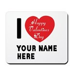 Personal Name : Valentine Mousepad
