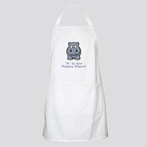 H is for Happy Hippo! Apron