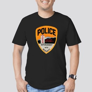Tucson Airport Police Men's Fitted T-Shirt (dark)