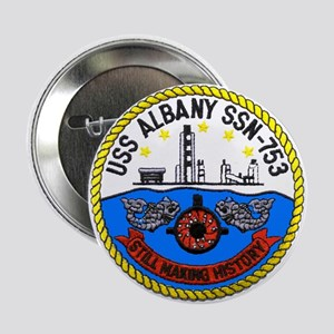 USS Albany SSN 753 Button