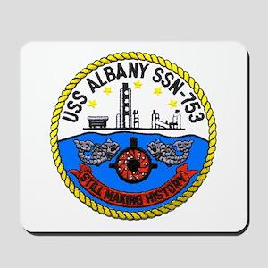 USS Albany SSN 753 Mousepad