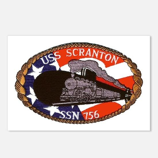 USS Scranton SSN 756 Postcards (Package of 8)