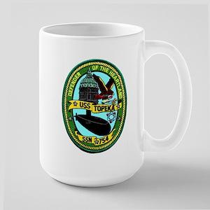 USS Topeka SSN 754 Large Mug