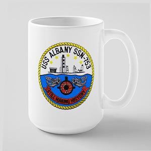 USS Albany SSN 753 Large Mug