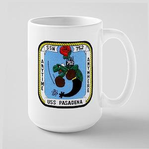 USS Pasadena SSN 752 Large Mug