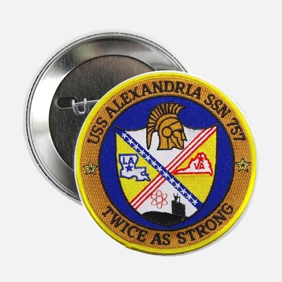 USS Alexandria SSN 757 Button