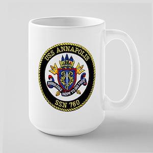 USS Annapolis SSN 760 Large Mug