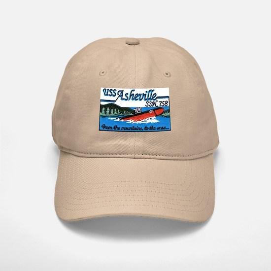 USS Asheville SSN 758 Baseball Baseball Cap