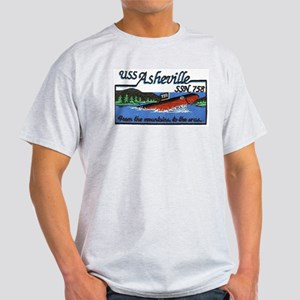 USS Asheville SSN 758 Light T-Shirt