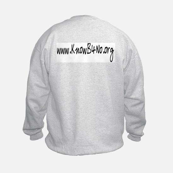 KnowB4No.org Sweatshirt