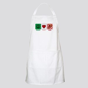 Peace Love Pizza Apron