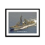 USS BERKELEY Framed Panel Print