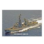 USS BERKELEY Postcards (Package of 8)