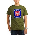 USS BERKELEY Organic Men's T-Shirt (dark)
