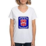 USS BERKELEY Women's V-Neck T-Shirt
