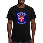 USS BERKELEY Men's Fitted T-Shirt (dark)