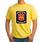 USS BERKELEY Yellow T-Shirt