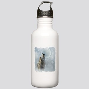 Wolf Blue Moon Stainless Water Bottle 1.0L