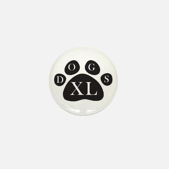 Funny Big dog Mini Button