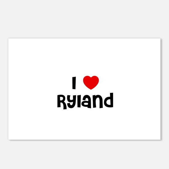 I * Ryland Postcards (Package of 8)