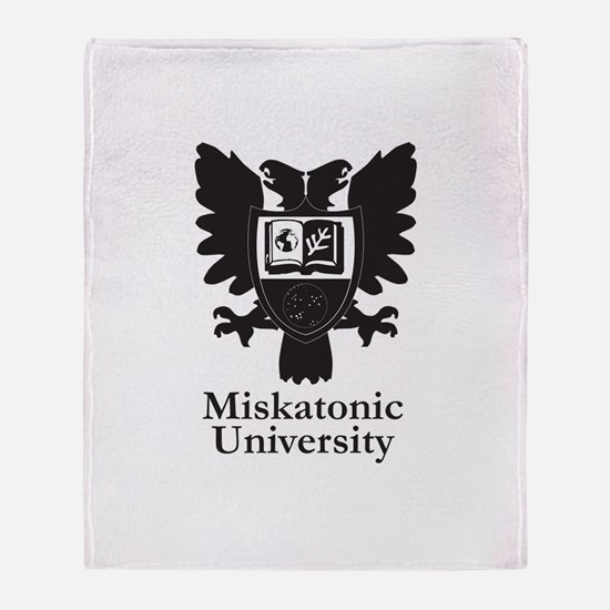 Cute Miskatonic Throw Blanket