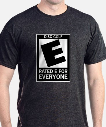 Rated E Disc Golf T-Shirt