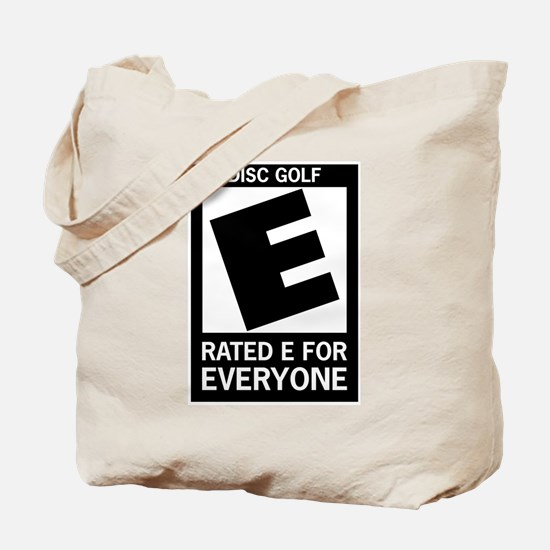Rated E Disc Golf Tote Bag