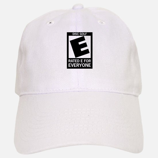 Rated E Disc Golf Baseball Baseball Cap
