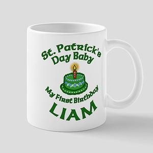 Customizable St. Pat's Baby Birthday Mug