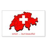Small but Beautiful Rectangle Sticker