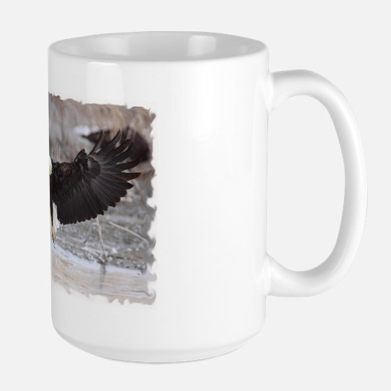 Eagles Landing Large Mug