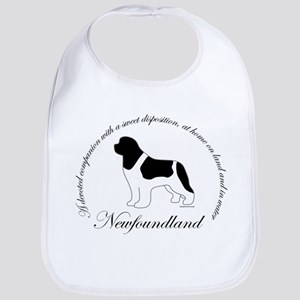 Devoted Landseer Newf Bib